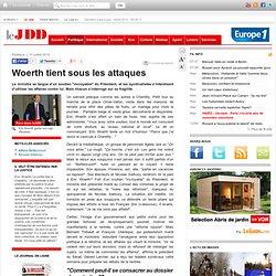 Woerth tient sous les attaques - affaire bettencourt sarkozy