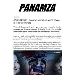 » Affaire Charlie : Bougrab se met en scène devant la tombe de Charb