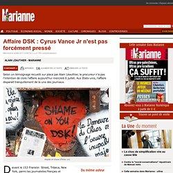 Affaire DSK : Cyrus Vance Jr n'est pas forcément pressé