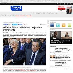 Affaire Fillon : décision de justice imminente