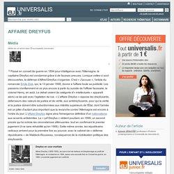 AFFAIRE DREYFUS, en bref