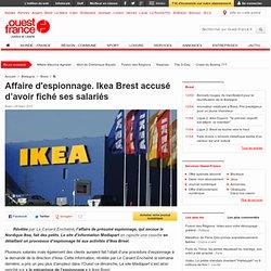 Affaire d'espionnage. Ikea Brest accusé d'avoir fiché ses salariés - Brest - Justice