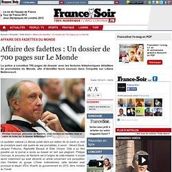 Affaire des fadettes : Un dossier de 700 pages sur Le Monde