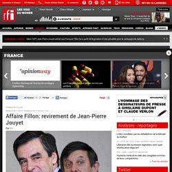 Affaire Fillon: revirement de Jean-Pierre Jouyet