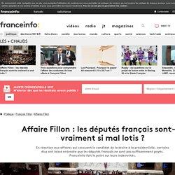 Affaire Fillon : les députés français sont-ils vraiment si mal lotis ?