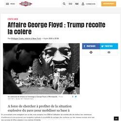 Affaire George Floyd: Trump récolte la colère