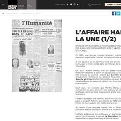 L'affaire Hanau à la Une (1/2) - Presse RetroNews-BnF