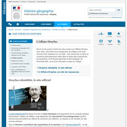 L'Affaire Dreyfus-Histoire-géographie-Éduscol