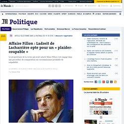 Affaire Fillon: Ladreit de Lacharrière opte pour un «plaider-coupable»