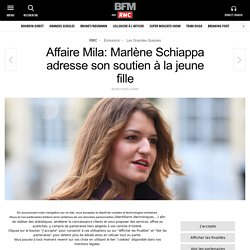 Affaire Mila: Marlène Schiappa adresse son soutien à la jeune fille