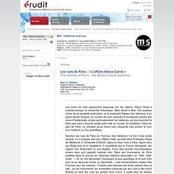 M/S : médecine sciences v20 n6-7 2004, p.707-709