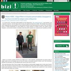 Affaire HSBC : Edgar Morin et d'autres personnalités s'engagent à leur tour à receler les sièges saisis à Bayonne - Bizi !