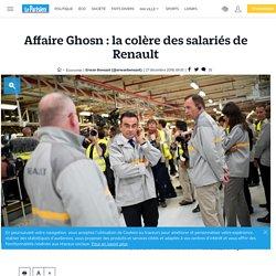 Affaire Ghosn : la colère des salariés de Renault