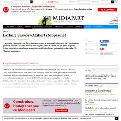 L'affaire Sarkozy-Azibert stoppée net - Page 1