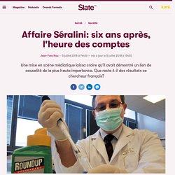 Affaire Séralini : 6 ans apres.