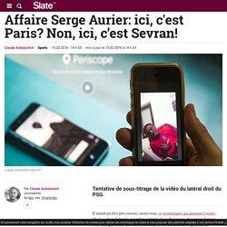 Affaire Serge Aurier: ici, c'est Paris? Non, ici, c'est Sevran!