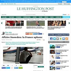 Affaire Snowden: la France aphone