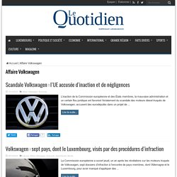 Affaire Volkswagen