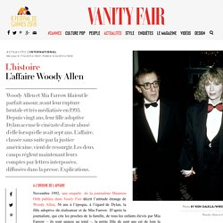 L'affaire Woody Allen-Dylan Farrow