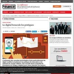 Voyages d'affaires - Le digital bouscule les pratiques