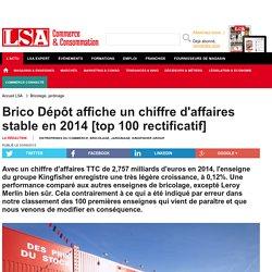 Brico Dépôt affiche un chiffre d'affaires... - Bricolage, jardinage