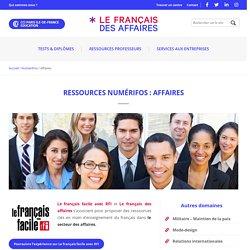 Affaires - Le français des affaires