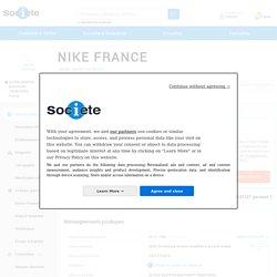 NIKE FRANCE (PARIS 8) Chiffre d'affaires, résultat, bilans sur SOCIETE.COM - 320367139