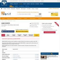 Société KIABI EUROPE à HEM (Chiffre d'affaires, bilans, résultat) avec Verif.com - Siren 344103270