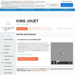 document 11 KING JOUET (VOIRON) Chiffre d'affaires, résultat, bilans sur SOCIETE.COM - 347926719