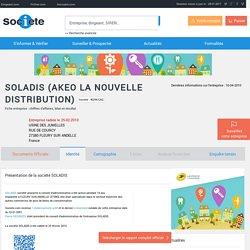 SOLADIS (FLEURY SUR ANDELLE) Chiffre d'affaires, résultat, bilans sur SOCIETE.COM - 402961262