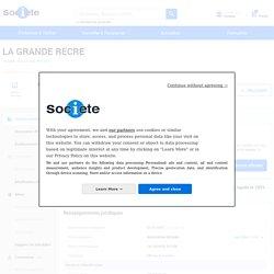 document 9 LA GRANDE RECRE (ISOMES) Chiffre d'affaires, résultat, bilans sur SOCIETE.COM - 412273260