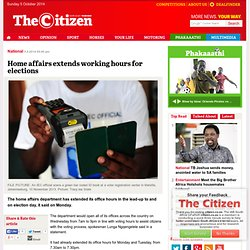 The Citizen Online