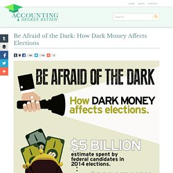 Be Afraid of the Dark: How Dark Money Affects Elections - The Accounting Degree Review