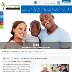 How PTSD Affects Veterans and Their Families