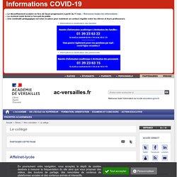 Affelnet - ac-versailles.fr