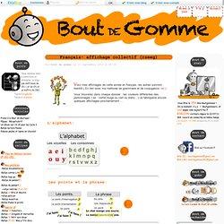 Affichages français CP-CE1