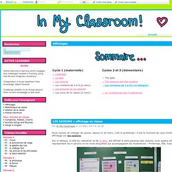 Affichages - In My Classroom