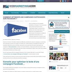 Comment optimiser une campagne d'affichages sur Facebook ?