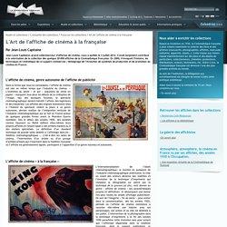 Art de l'affiche de cinéma à la française