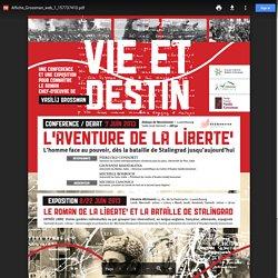 """Expo """"Vie & Destin : l'aventure de la liberté"""""""