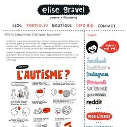 Affiche à imprimer: C'est quoi, l'autisme ? - CRA Normandie