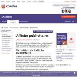 Affiche publicitaire : utilité - Ooreka