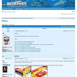 Le forum francophone sur les jouets Lego.