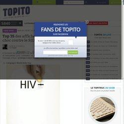 Top 35 des affiches et campagnes de pub choc contre le SIDA