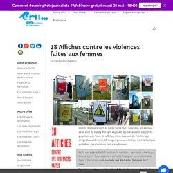 18 Affiches contre les violences faites aux femmes