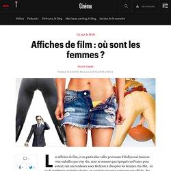 Affiches de film : où sont les femmes ? - Vu sur le net