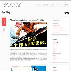 Affiches françaises de films d'arts martiaux 60's/70's > WOOGZ