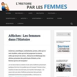 Affiches – Les femmes dans l'Histoire