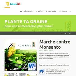 Affiches pour la Marche contre Monsanto