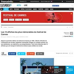 Les 15 affiches les plus mémorables du festival de Cannes